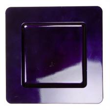 Standard Purple Square Charger Plate - 33cm x 33cm