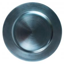 Standard Light Blue Round Charger Plate - 33cm