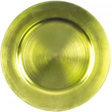 Standard Lime Green Round Charger Plate - 33cm