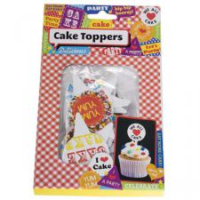 Talking Tables Funky Cake Toppers - Pack Of 40