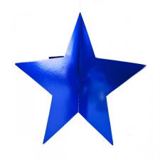 Blue Display Star - 75cm