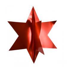 Red Display Star - 75cm