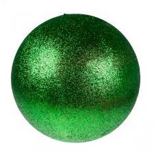 Green Glitter Polystyrene Bauble - 50cm