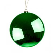 Green Disc Hanging Decoration - 20cm