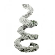 Suspended Snow Finished Green Spiral Display Tree - 2.1m