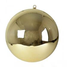 Light Gold Display Shatterproof Bauble - 1 x 400mm