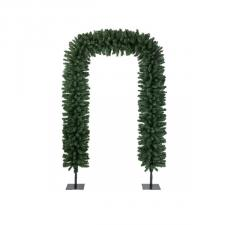 Green Display Arch With Hinged Branches - 240cm