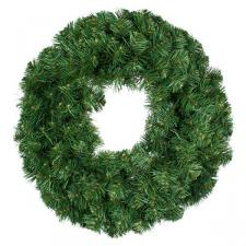Green Artificial Wreath - 1m