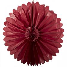 Paper Fan Collection - 100cm Red