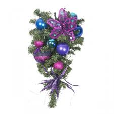 Berry Christmas Theme Range - 60cm Pre-Decorated Teardrop