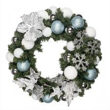 Jack Frost Theme Range - 60cm Pre-Decorated Wreath