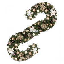Antique Chic Theme Range - 2.7m x 35cm Pre-Decorated Garland