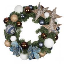 Nordic Winter Theme Range - 60cm Pre-Decorated Wreath