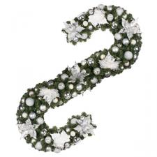Simply Silver Theme Range - 2.7m x 35cm Pre-Decorated Garland