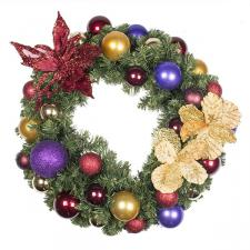 Spiced Wine Theme Range - 60cm Pre-Decorated Wreath