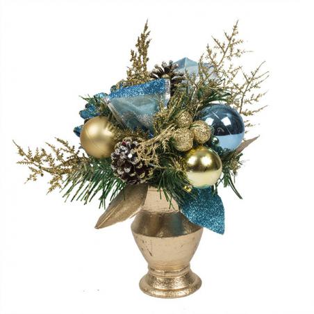 Regal Blue Christmas Room Decoration Collection - Door Hanger