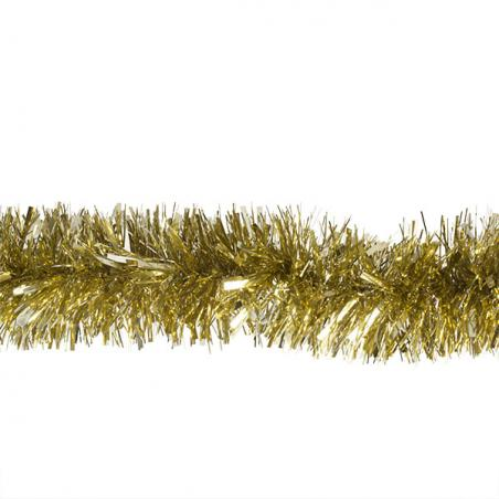 Gold Bamboo Design Glitter Table Top Tree - 60cm