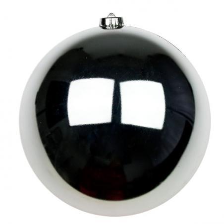 Silver Bauble Shape Mirror Garland - 1.8m