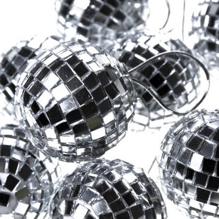 Luxury Silver Shiny Finish Shatterproof Bauble Range - Single 250mm