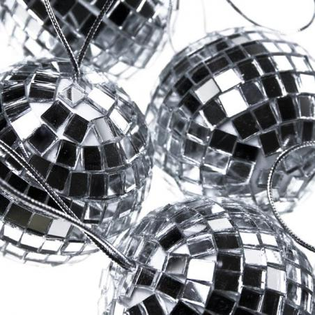 Silver Metallic Finish Shatterproof Bauble - 140mm