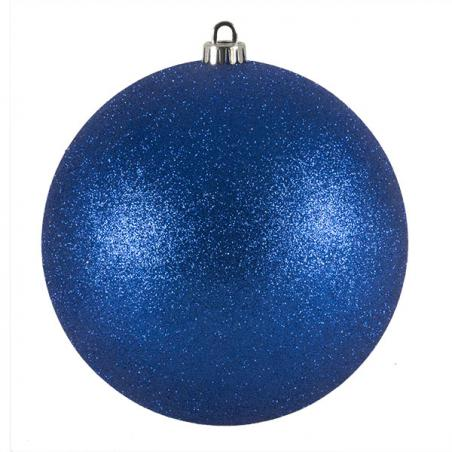 Luxury White Satin Finish Shatterproof Baubles - Pack of 4 x 100mm