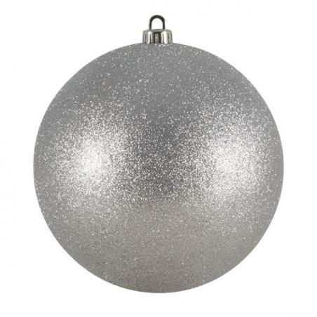 Silver Diamond Shaped Hanging Decoration - 7.5cm x 25cm