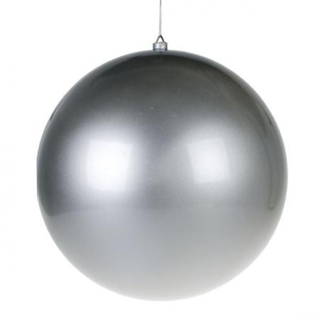 Silver Fretwork Star Silhouette Hanging Decoration - 30cm
