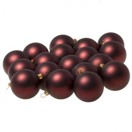 Luxury Silver Satin Finish Shatterproof Baubles - Pack of 18 x 60mm