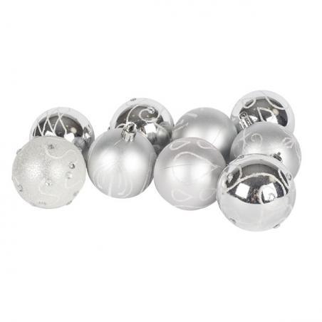 Twin Pack Of 150 Ornamental Hooks - Silver