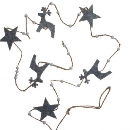 Pack Of 6 X 100mm Burgundy Shatterproof Star Hanging Decorations