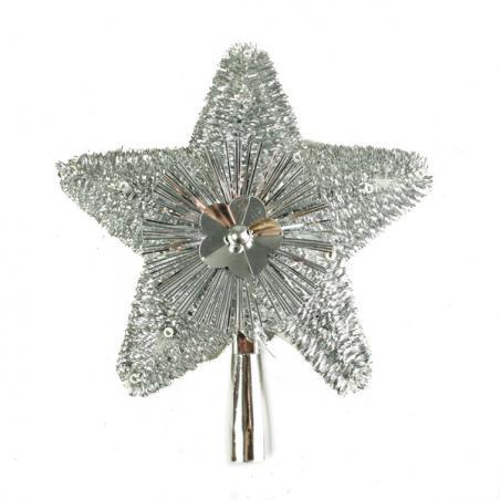 Silver Crackle Glass Votive Tealight Holder - 6cm X 5cm