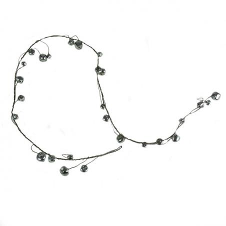 Silver Glitter Finish Tree Top Star -20cm