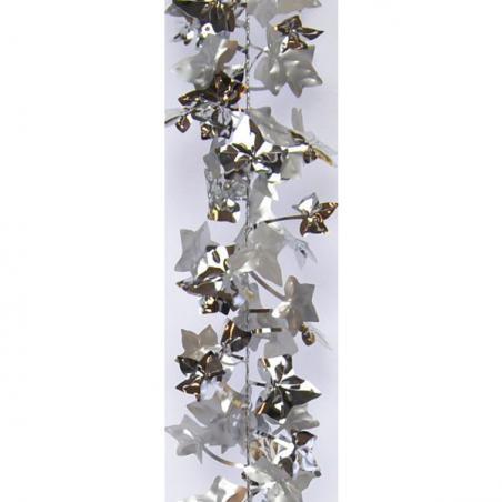 3D Silver Tree Acrylic Garland