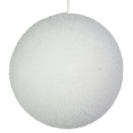 Bristly Snowball With Iridescent Flecks - 130mm