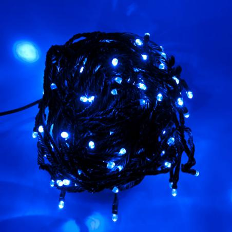 Konstsmide 8.85m Length Of 60 Blue Indoor Static LED Fairy Lights Clear Cable