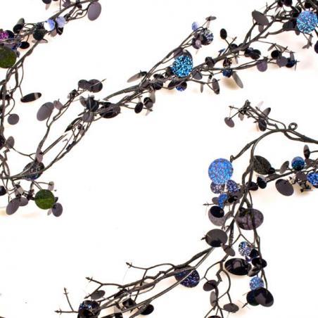 Silver Bead Chain Garland - 8mm x 10m