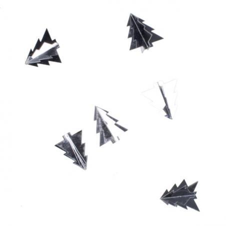 Silver Baubles - Shatterproof - Single 250mm