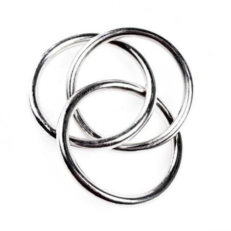 Metallic Silver Spiral Pick - 58cm