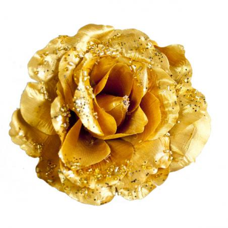 Gold Decorative Flower - 15cm