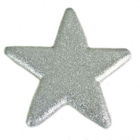 Silver Shatterproof Baubles  - Single 250mm Matt