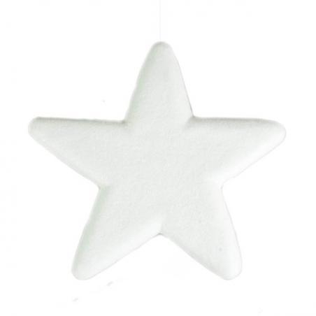 50cm Glitter Display Star Hanger - Red