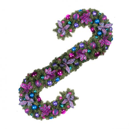 Berry Christmas Theme Range - 60cm Pre-Decorated Wreath
