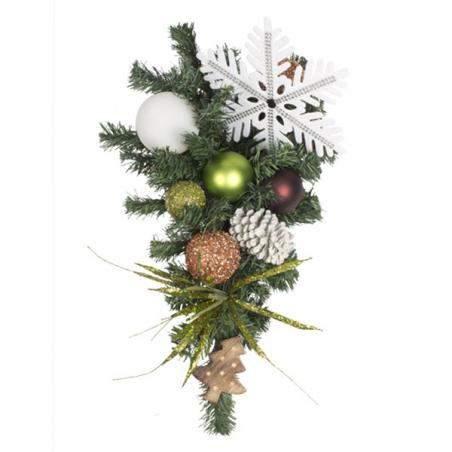 Winter Woodland Theme Range - 60cm Pre-Decorated Wreath