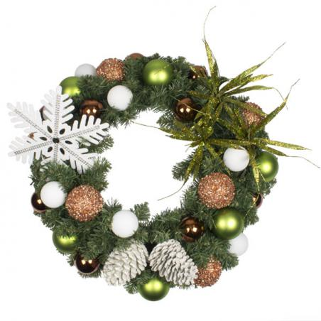 Winter Woodland Theme Range - 2.7m x 35cm Pre-Decorated Garland