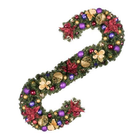 Spiced Wine Theme Range - 60cm Pre-Decorated Wreath