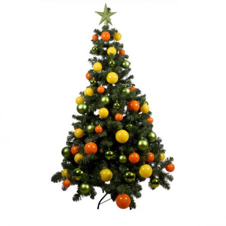 Citrus Burst Theme Range - 2.7m x 35cm Pre-Decorated Garland