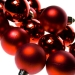 Christmas Red Baubles - Shatterproof - Pack of 16 x 40mm