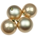 Pearl Baubles - Shatterproof - Pack of 4 x 100mm