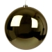 Gold Baubles - Shatterproof - Single 250mm