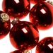 Krebs Candy Apple Red Glass Baubles - 8 x 67mm
